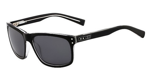 Nike   VINTAGE 80 P EV0812 091 BLACK/CRYSTAL CLEAR WITH GREY Polarized LENS