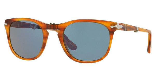Persol PO3028S 960/56 CRYSTAL BLUESTRIPED BROWN