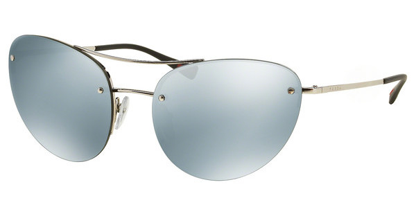 Prada Sport PS 51RS 1BC5K2 GREEN MIRROR SILVERSILVER
