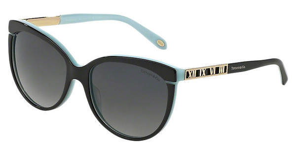 Tiffany TF4097 8055T3 POLAR GREY GRADIENTBLACK/BLUE