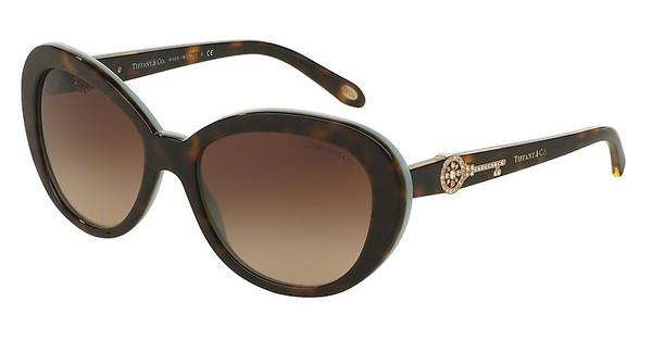Tiffany TF4118B 81343B BROWN GRADIENTHAVANA/BLUE