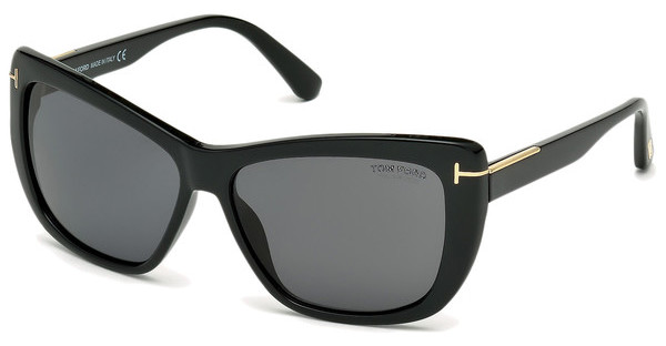 Tom Ford FT0434 01D grau polarisierendschwarz glanz