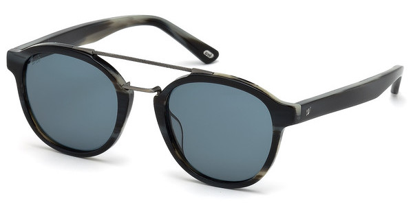 Web Eyewear WE0169 63V blauhorn schwarz